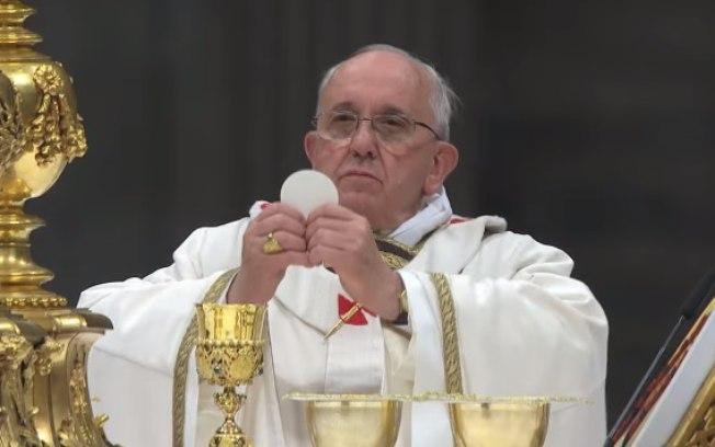 Papa Francisco celebra a missa na Basílica de São Pedro, Cidade do Vaticano - (Foto: Vaticannews)