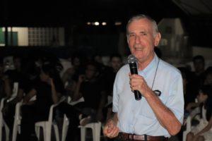 Bispo de Macapá Dom Pedro Conti fala aos participantes do IERPJ