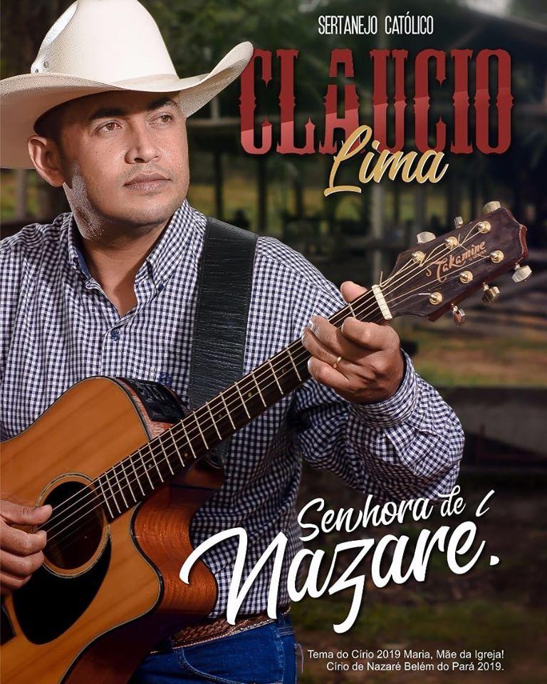 Cartaz promocional do cantor Claucio Lima - (Foto: Divulgação)
