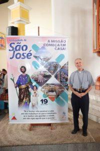 Bispo de Macapá, Dom Pedro José Conti no lançamento da Festividade de São José 2020 - (Foto: Willian Valério / Pascom)