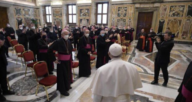 Audiência Papa Francisco - Escritório Catequético Nacional italiano da CEI (Vatican Media)